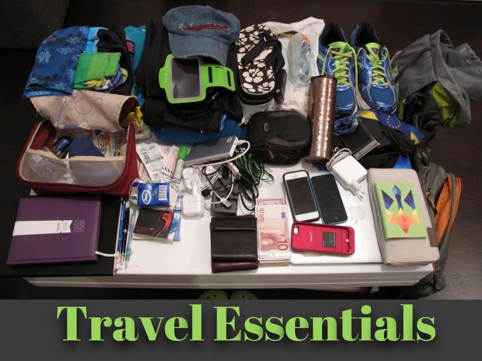 These are the essential things that you should never travel without