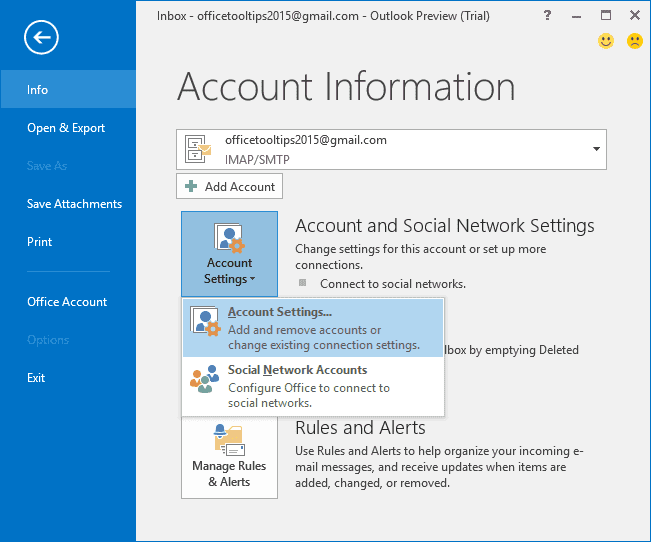 how to migrate from live mail to outlook 2016