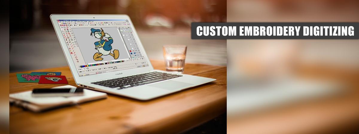 The Prominence of Custom Embroidery Digitizing