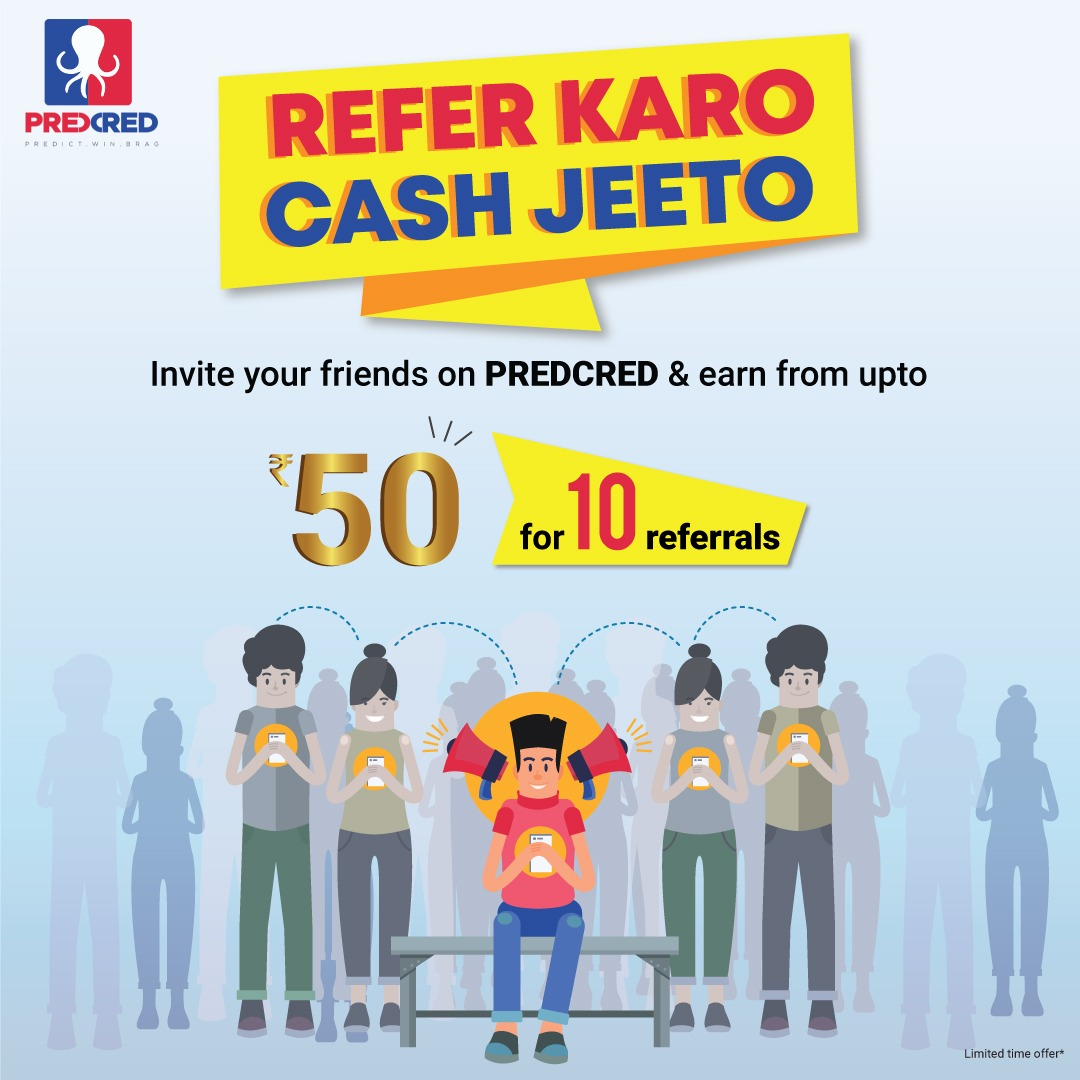 Refer and Earn- PredCred
