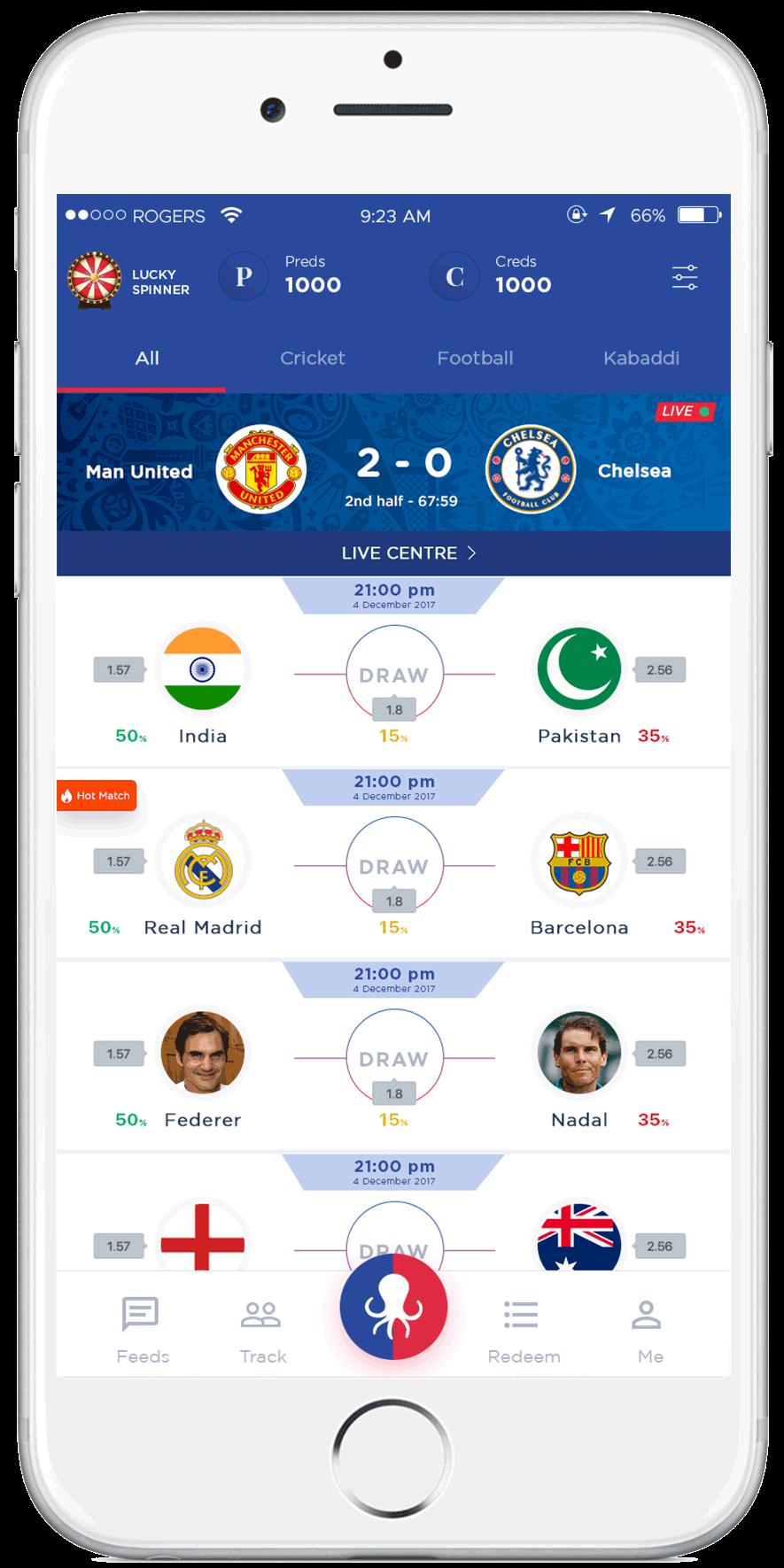 Best Winning Prediction App