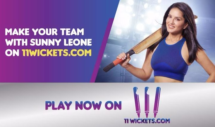Create Your Afghanistan Premier League Fantasy Team of KK VS NL with Sunny Leone Only at 11Wickets.com