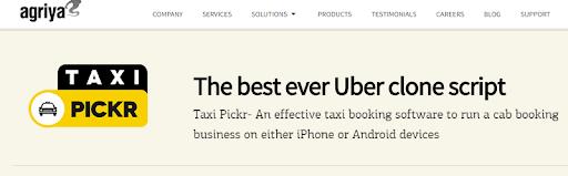 Arigya's Taxi Pickr