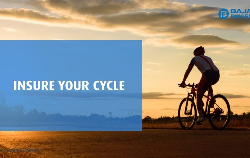 Bicycle with a Cycle Insurance