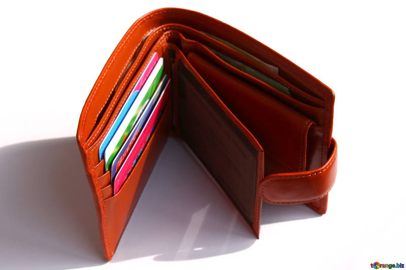 Wallet with credit cardsimage from torange_biz free photobank
