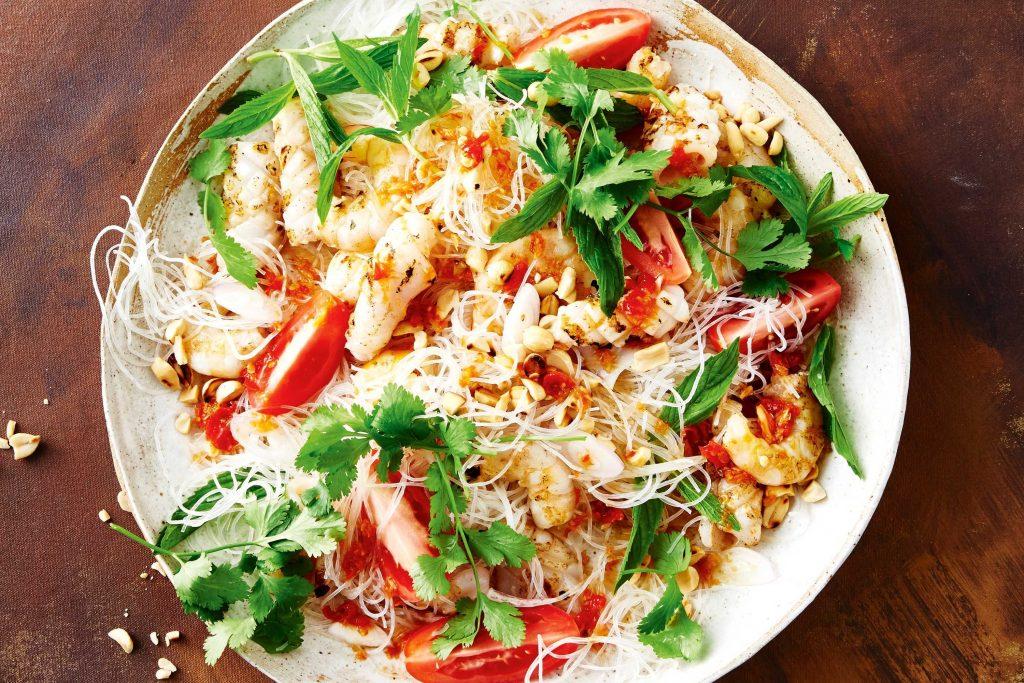Thai Seafood and Noodle Salad