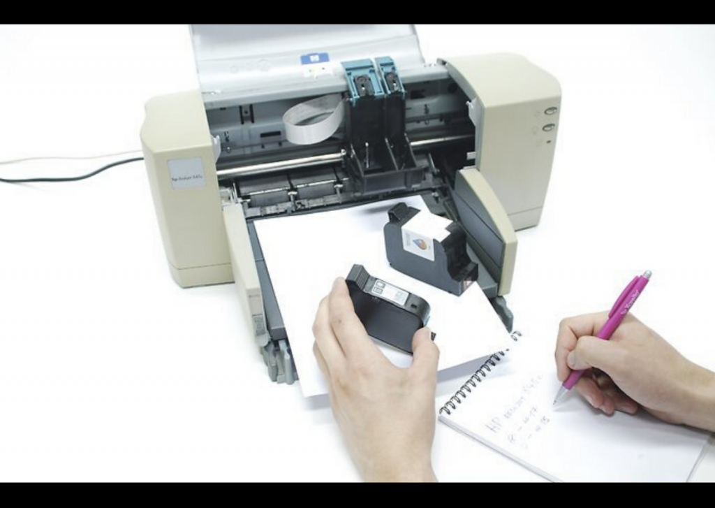 Steps to replace Printer Cartridges