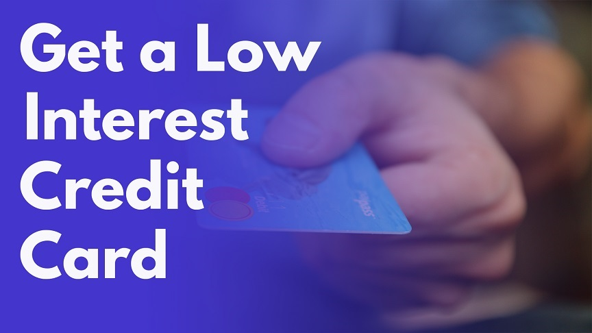 low interest credit card
