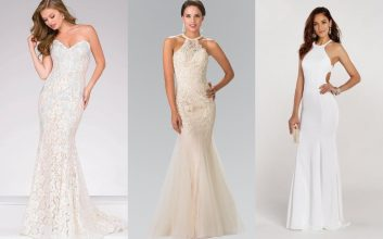 Celebrate your winter wedding with stylish wedding dresses on sale