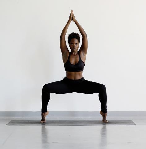 Goddess Pose Yoga