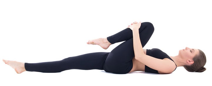 Wind-Relieving Pose Yoga