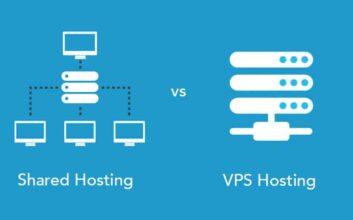 shared hosting vs over VPS hosting